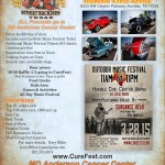 2015 CureFest Blast from the past car show flier b rgb