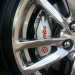 Bimbo brakes Chevy SS