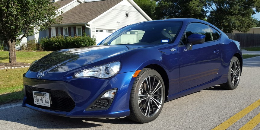 2016 scion fr s review that car lady. Black Bedroom Furniture Sets. Home Design Ideas