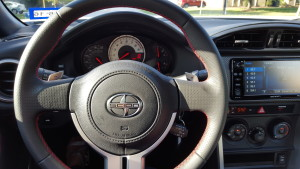 Sporty Steering Wheel (1)