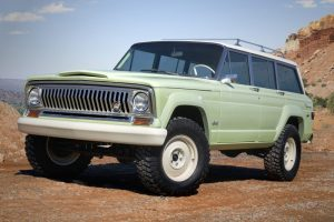 concept vehicle Jeep Wagoneer Raodtrip retro design