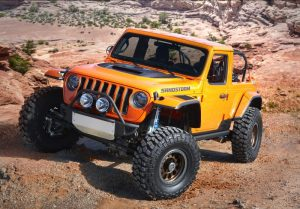 Jeep concept vehicle sandstorm moab